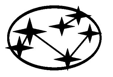 Custom Subaru Emblem >> SL-002 - Old Logo, Solid