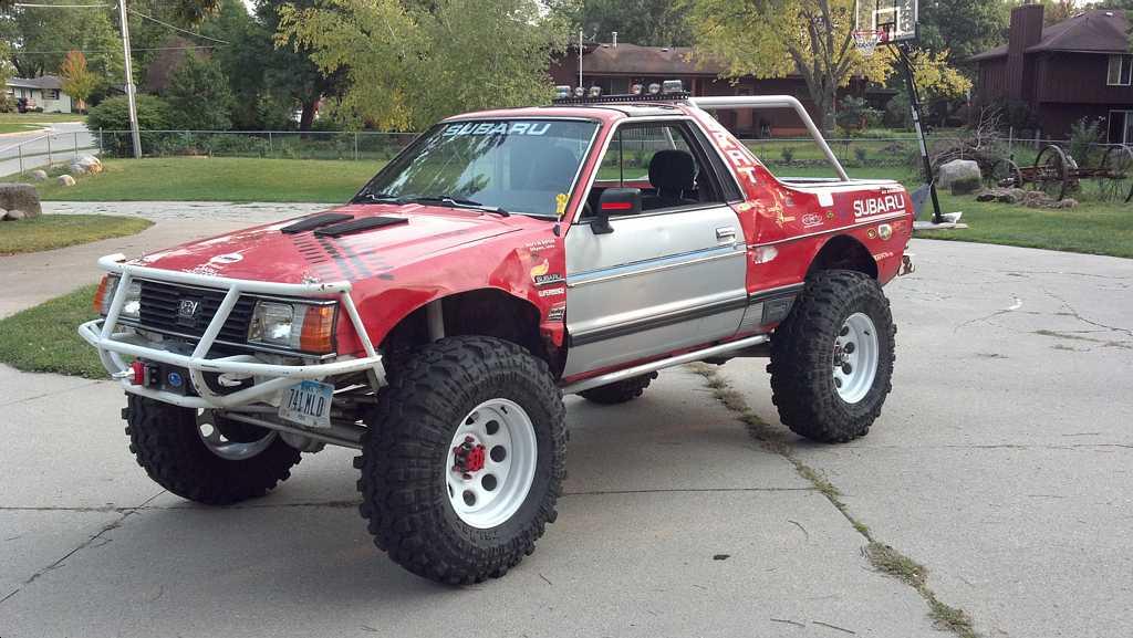 1982 Subaru Brat Off Road Build